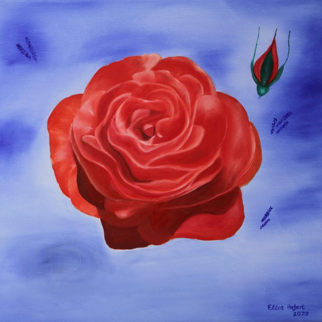 La Rose 50 x 50 cm