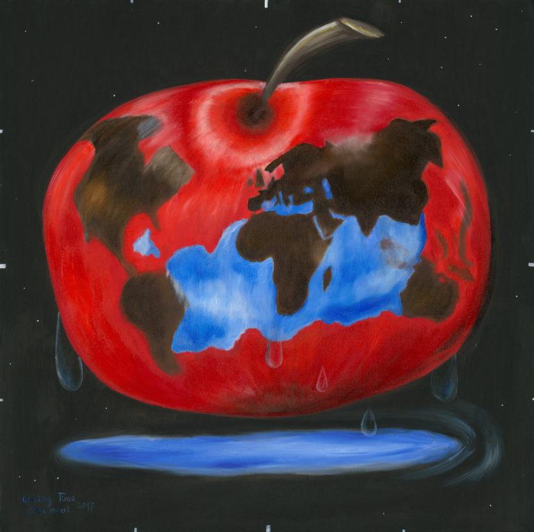 Der Apfel der die Welt bedeutet